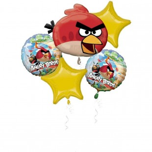 Angry Birds  Balloon Bouquet in Kuwait
