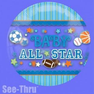 Buy Baby All Star Foil Balloon in Kuwait