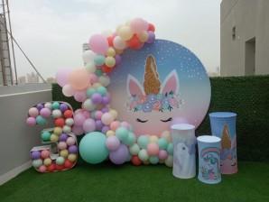Balloons & Backdrop in Kuwait