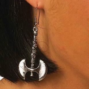 Battle Axe Gothic Earrings in Kuwait