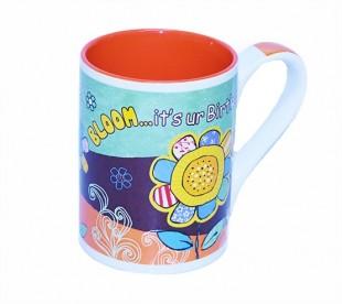 Buy Birthday Flower Mug in Kuwait