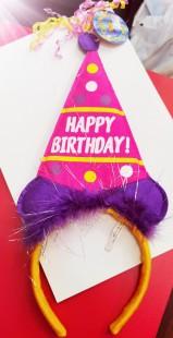 Birthday Headband in Kuwait