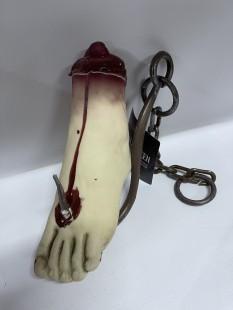 Bloody Foot On Hook in Kuwait
