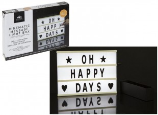 Buy Cenimatic Message Light Box in Kuwait
