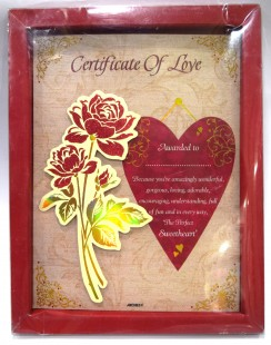 Buy Certificate Of Love in Kuwait