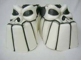 Child Skull Monster Shoe Covers in Kuwait