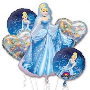 Cinderella Balloon Bouquet in Kuwait