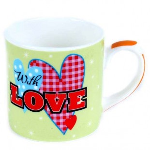 Buy Expresso Mug - Love Asst in Kuwait