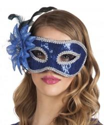 Buy Eye Mask Venice Fiore Blue in Kuwait