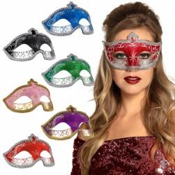Buy Eye Mask Venice Glitter Promo 3 Colours in Kuwait