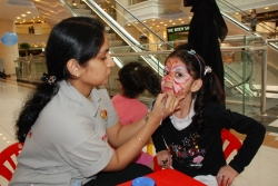 Face painting in Kuwait