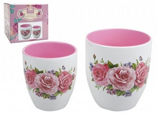 Buy Floral Planters - 2 Set in Kuwait