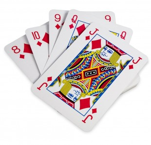Giant A4 Size Playing Cards in Kuwait