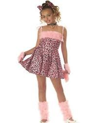 Girls Pink Kitten Costume 4-6 in Kuwait