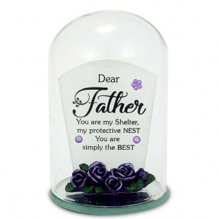 Glass Bottle Quotation - Dear Father in Kuwait