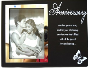 Buy Glass Photo Frame - Anniversary in Kuwait