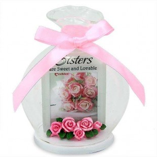 Buy Glass Quotation- Sister Are Sweet And Lovable in Kuwait
