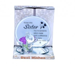 Buy Glass Quotation - Sweet Little Sister in Kuwait