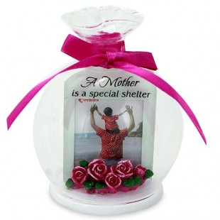 Buy Glass Round Quotation- A Mother Is A Special in Kuwait