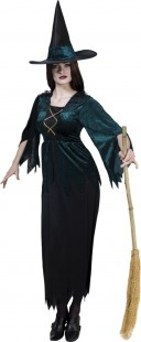 Gothic Witch Dame Costume 36-38 in Kuwait