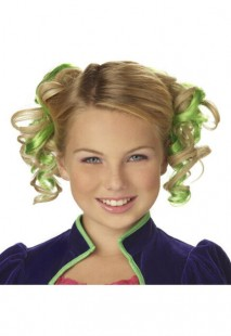 Green Curly Hair Clips in Kuwait