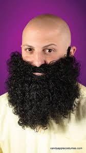Halloween Big Curly Beard in Kuwait