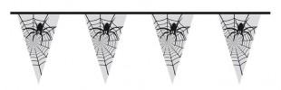Halloween Bunting Spider In Web in Kuwait