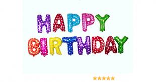 Happy Birthday Balloon Letters in Kuwait