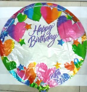 Happy Birthday Foil Balloon 066044 in Kuwait