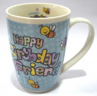 Buy In Out Mug - Happy Birthday Friend in Kuwait