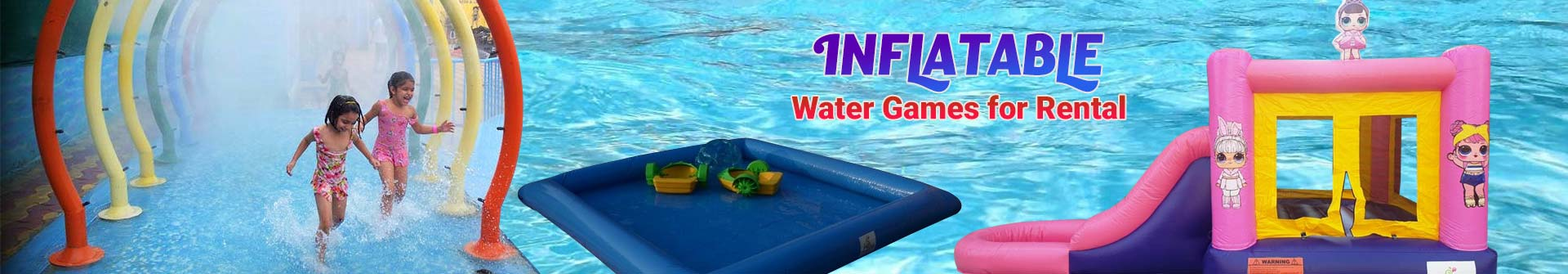 Inflatable Water Game for Rental