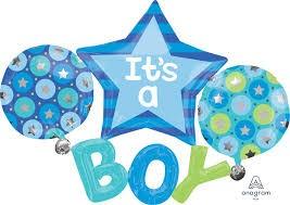 Buy It's A Boy Multi- Balloon 312226 in Kuwait