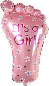 Buy It's A Girl Foot 28