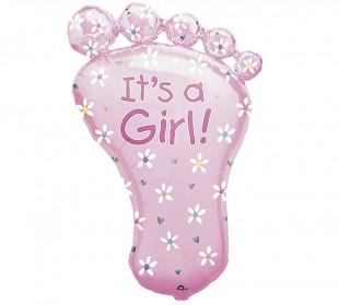 Buy It's A Girl Foot in Kuwait
