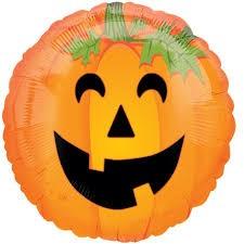 Jack O' Lantern Halloween Foil Balloon 18