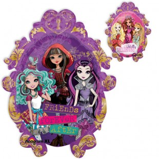 Jumbo Ever After High Balloon Packaged in Kuwait