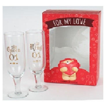 King And Queen Glass
