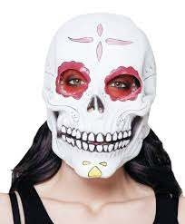 Latex Mask Senora Calavera in Kuwait