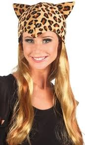 Leopard Cap And Wig For Ladies in Kuwait