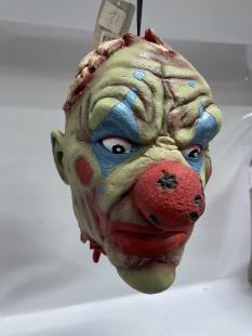 Life-sized Latex  Hanging Clown Head in Kuwait