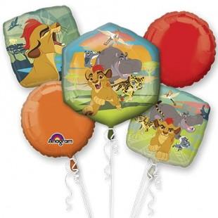 Lion Guard – Bouquet Of Balloons – Foil in Kuwait