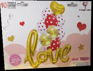 Buy Love Balloon 10 Pc in Kuwait