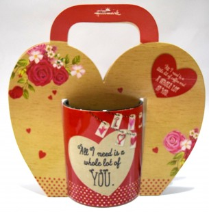 Buy Love Mug - All I Need Is... in Kuwait