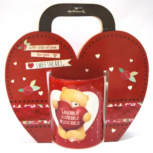 Buy Love  Mug - Lovable, Adorable, Huggable in Kuwait