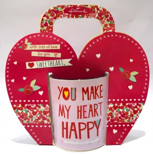Buy Love Mug - You Make My Heart Happy in Kuwait