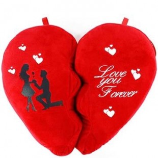 Buy Love You Forever Musical Cushion in Kuwait