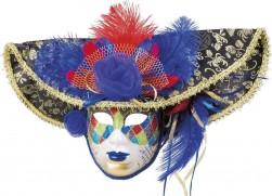 Buy Mask Venice Jester Deluxe  in Kuwait