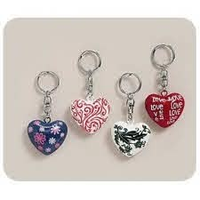 Metal Key Ring With Sound In Different Designs (each Sold Separately) in Kuwait