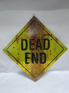 Metal Sign - Dead End in Kuwait