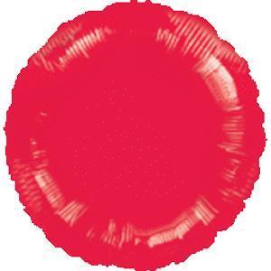 Metallic Red Round Foil Balloon in Kuwait